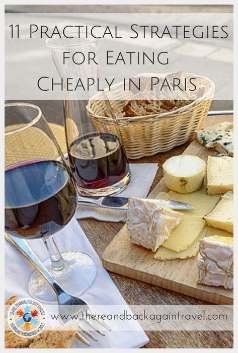 If you are traveling to Paris on a budget, eating cheaply in Paris can be HARD! …