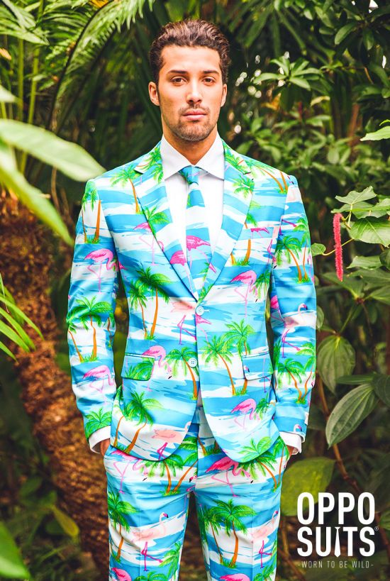 6b76734a Flaminguy Funny Hawaiian Shirts, Hawiian Shirts, Funny Prom, Blue Suit  Jacket, Suit