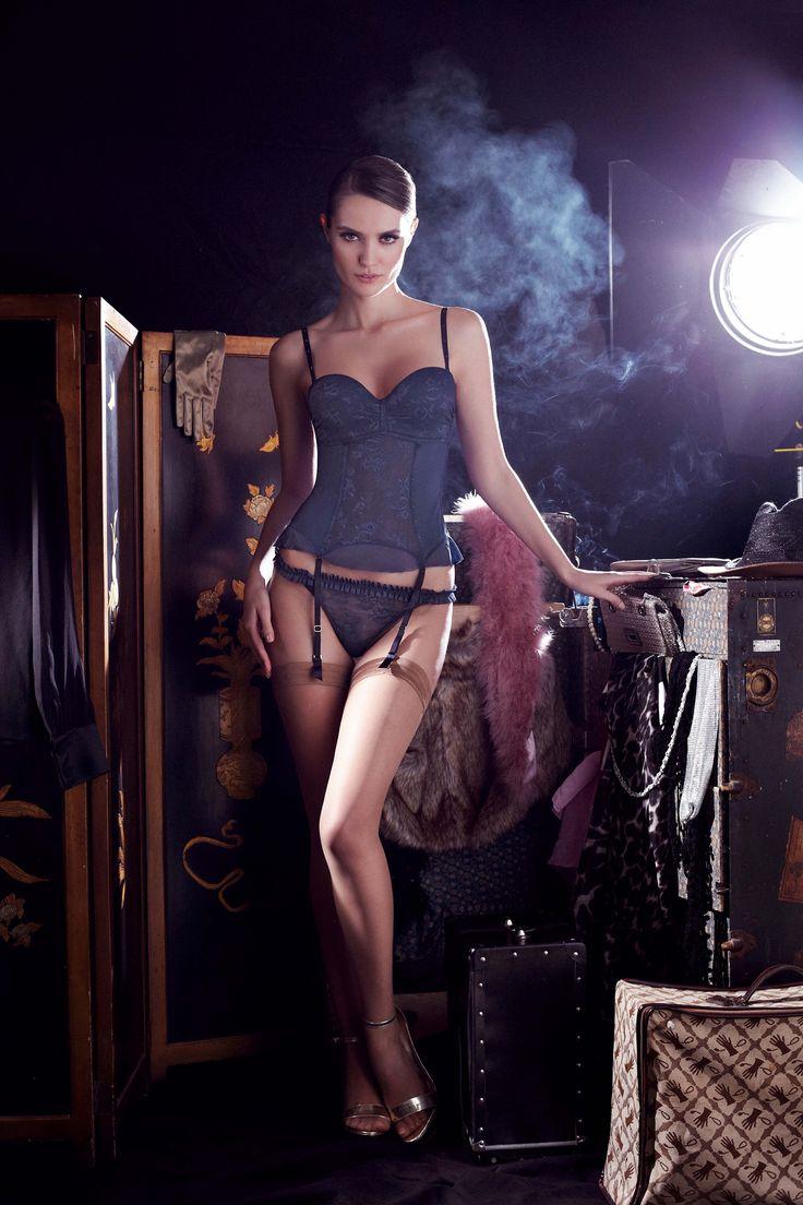 Corselette Push Up, Luxury Lingerie