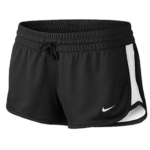 The Nike Women's Gym Reversible Shorts provides two comfortable, Dri-FIT  fabric options for your workouts. Jersey fabric provides a soft feel, while  mesh on ...