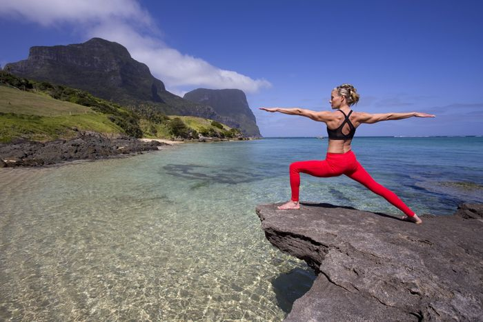 Practice with Charlotte Dodson - Lord Howe Island