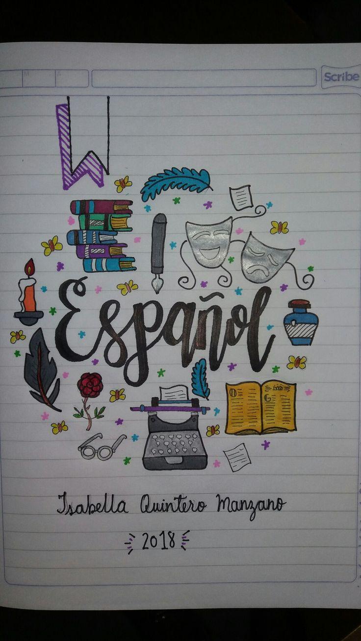Cuaderno Español Spanish Notebook