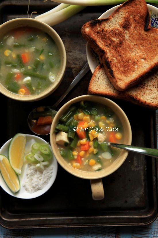 Sup Krim Sayuran Instan