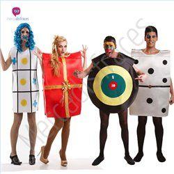 disfraces de carnaval de juegos de mesa para grupos tienda