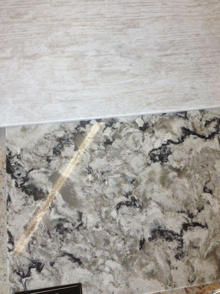 Tile with Cambria Bellingham Quartz | Guest Bathroom ...