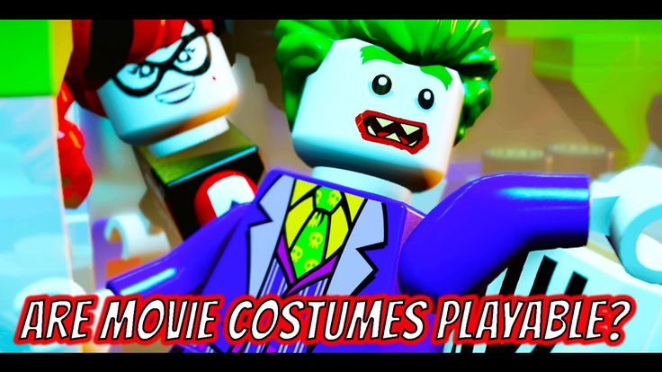 LEGO Dimensions Are The Joker, Harley Quinn or Bane LEGO Batman Movie Co...