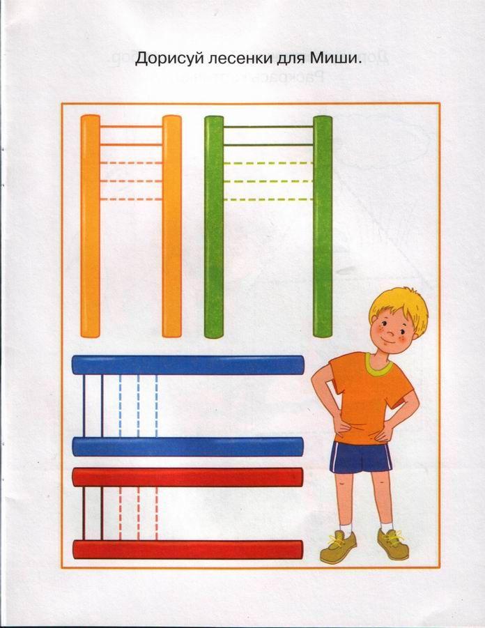 trait vertical et horizontal