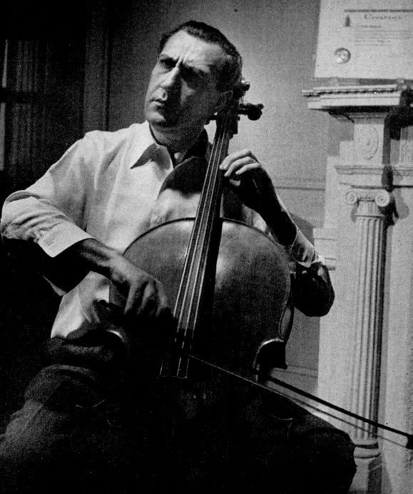 Gregor Piatigorsky (1903-1976) was an exceptionally dramatic and
