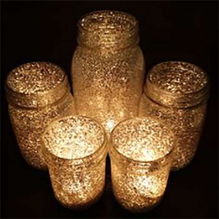 You'll love this inexpensive way to complement more significant outdoor lighting with these glittery mason jar candles! You'll need: – Some type of glass containers, preferably mason jars – Any color of glitter, but gold looks really great! – A small paintbrush or sponge – Some type of clear glue, like Mod Podge – Candles […]