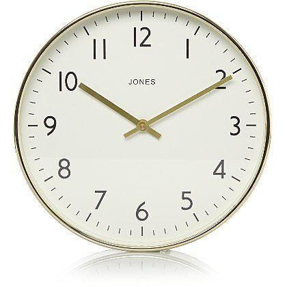 Jones Studio Clock Gold | Home & Garden | George