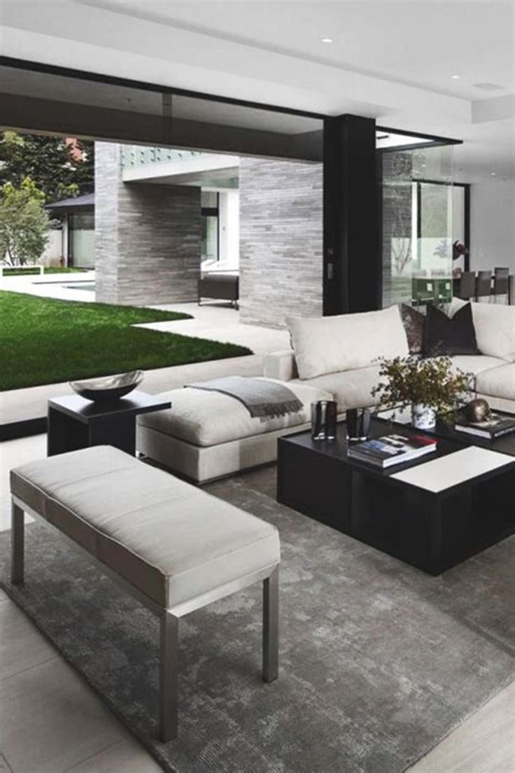 55 best modern chic living room decorating ideas for 2019 on home interior design ideas id=23881