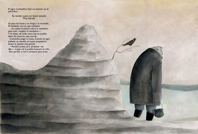 "Cecilia Varela illustration for ""El Ogoro""."