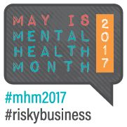 "MAY 2017 – Mental Health Awareness Month Sponsor: Mental Health America Theme: ""Risky Business"" Since 1949, Mental Health America and our affiliates across the country have led the observance of May is Mental Health Month by reaching millions of people … Continue reading →"
