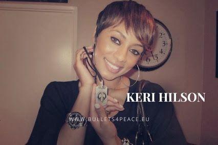 #PEACE #BULLETS4PEACE #ILOVEB4P Thank you Keri Hilson @KeriHilson