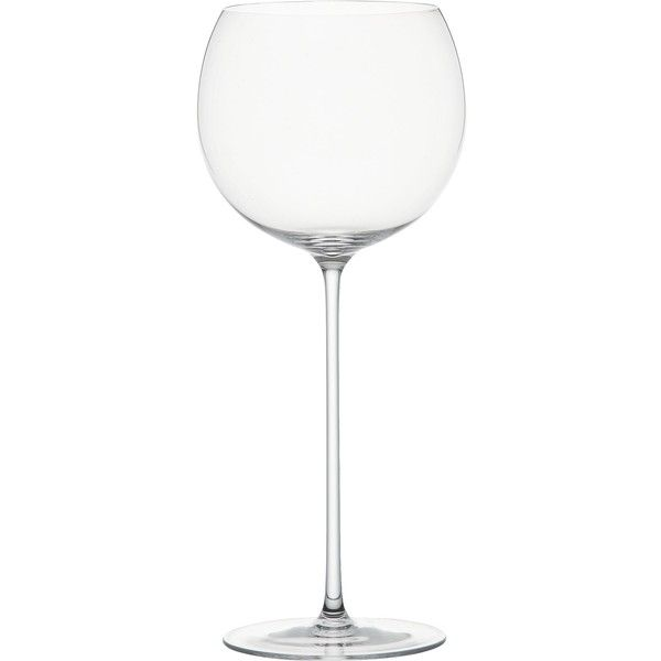 Crate & Barrel Camille 23 oz. Red Wine Glass (110 SEK) ❤ liked on Polyvore featuring home, kitchen & dining, drinkware, crate and barrel, red wine glasses, red stem wine glasses, red wine glass and red glass wine glasses