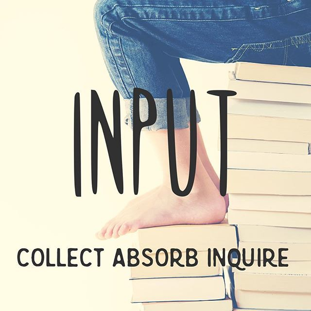 It's #Input week! Input loves information ideas, and any chance to gather them. #themethursday #strengthsfinder #strengthsquest #strengths #gwsw #cliftonstrengthsfinder