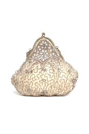 Gorgeous vintage bag: Handbags Pur, Vintage Wedding, Vintage Handbags, 1920S Beads, Beads Clutches, Awesome Handbags, Vintage Bags, Gorgeous Vintage, Bridal Accessories