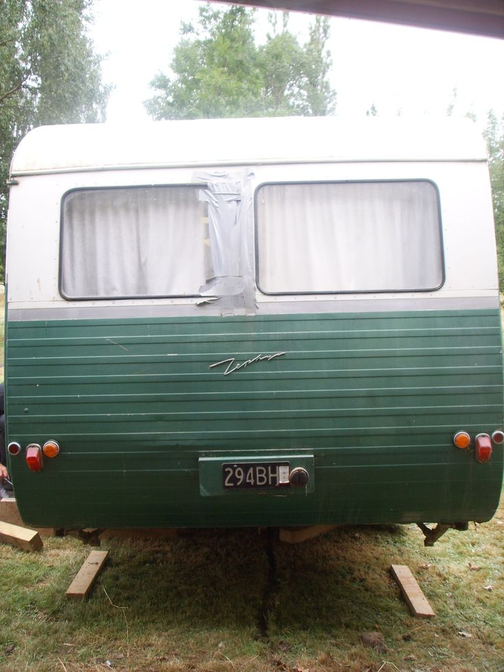Rear View, looking a bit sad and neglected!