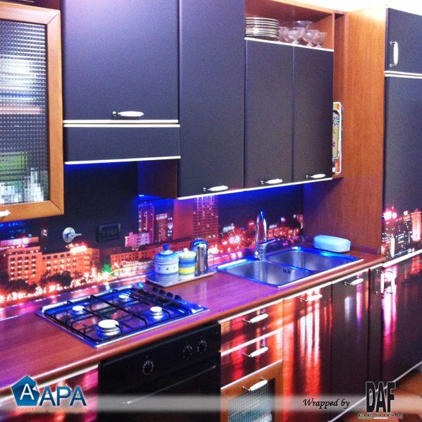 Interior decoration with APA self-adhesive vinyl  #apafilms #apavinyl #apafolie #apastickers #digitalprint #selfadhesive #interiorgraphic #interiordesign #interiordecoration