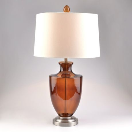 Orange Glass Table Lamp #kirklands #trendyorange