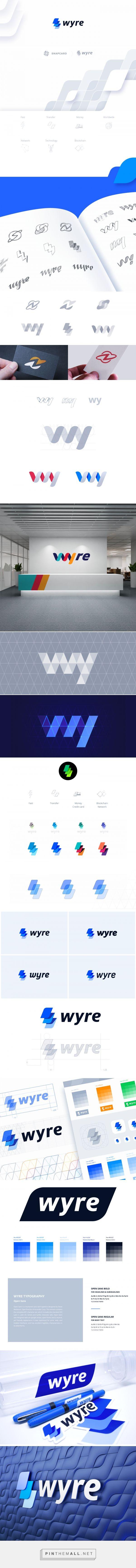 Wyre Branding on Behance - created via https://pinthemall.net