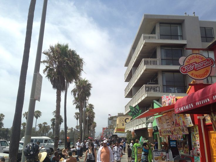 The craziness that is Venice beach.