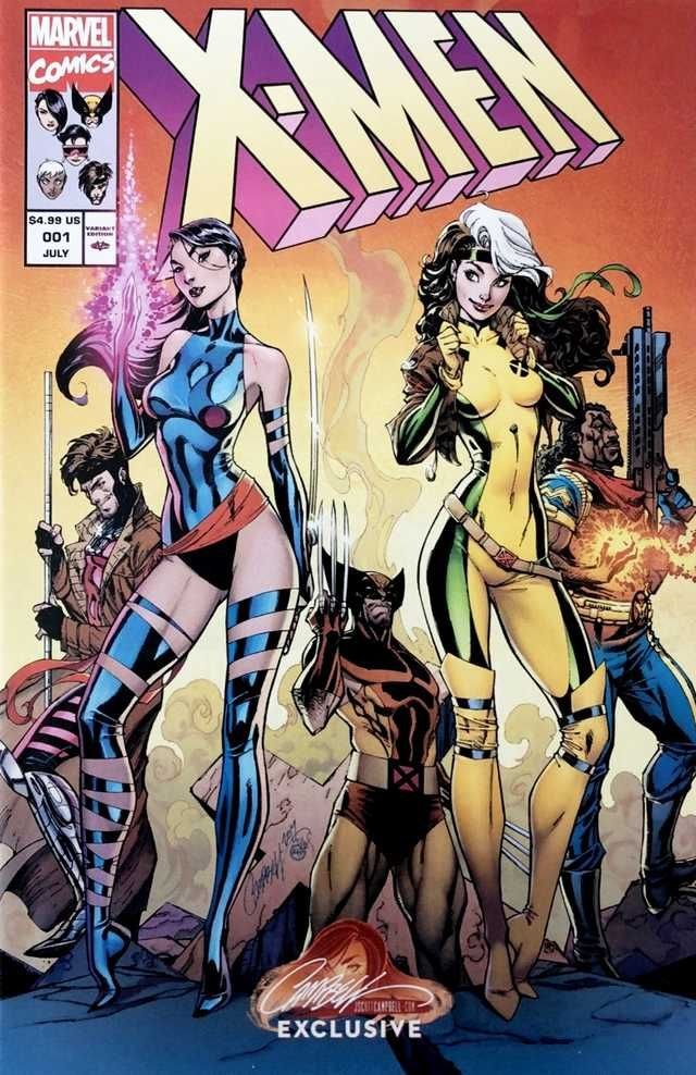 Astonishing X Men 001 2017 Covers Comics Scott Campbell X Men