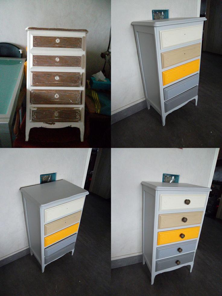 recherche pinterest peindre une commode meubles divers