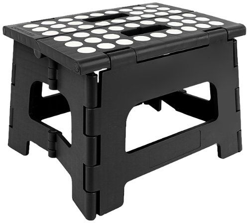 Rhino Ii Folding Step Stool Black 8 Quot 13 99 Stool