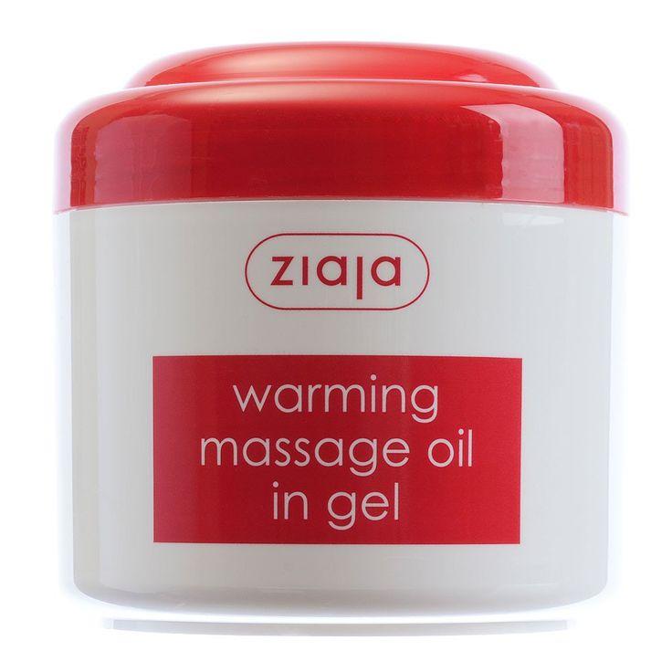 Warming Massage Oil in Gel - Ziaja® USA Webstore