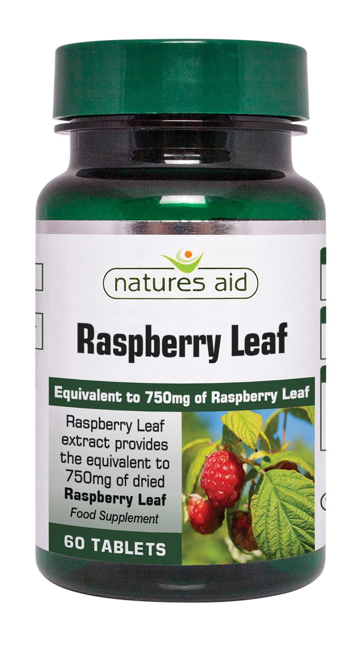 Raspberry Leaf 750mg 60's - 125620