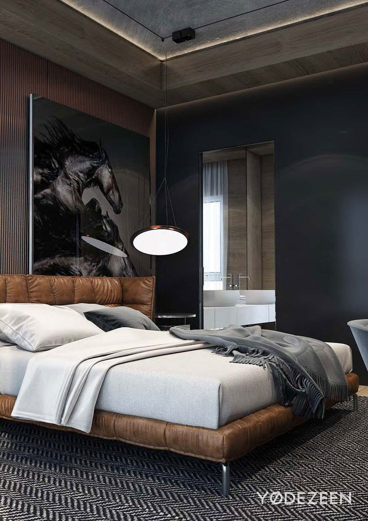 25 best ideas about modern bedrooms on pinterest modern bedroom decor modern bedroom design - Man bedroom photo ...