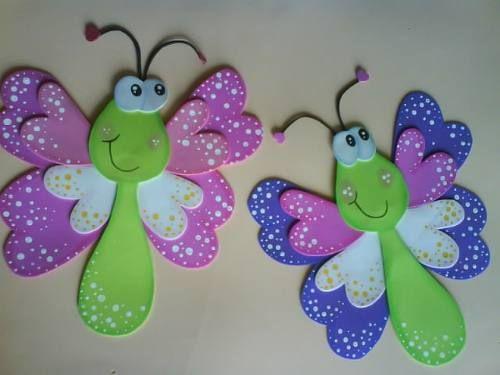 Articulos Para Decoracion De Fiestas Infantiles, En Goma Eva - en MercadoLibre