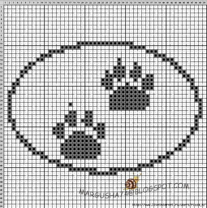 Кошачьи лапы сх (698x700, 551Kb)