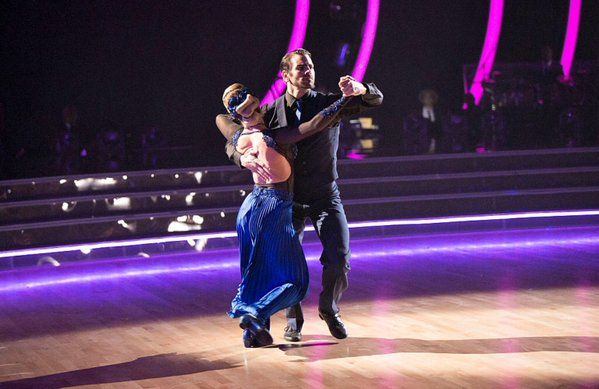 Nyle DiMarco and Peta Murgatroyd in DWTS