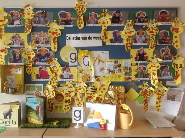 Letters leren is leuk en het wordt door de activiteiten van het boek 'Letter van de week' een echt feestje voor de kinderen!
