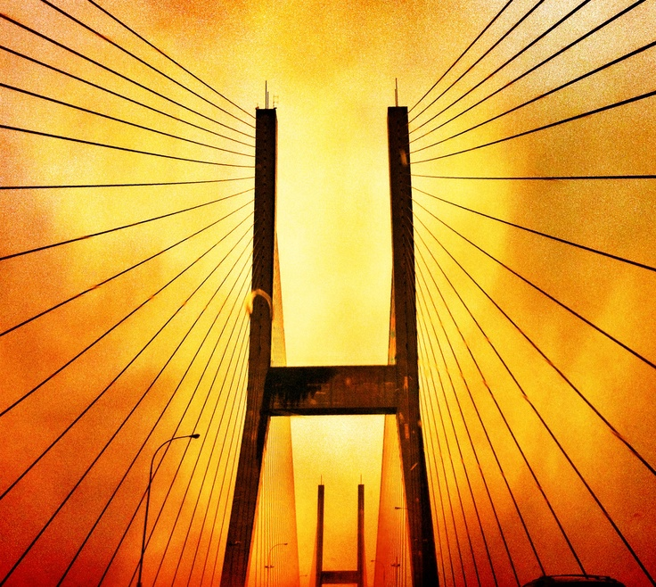 Vancouver Bridge.  iphoneography.  iPhone photography.
