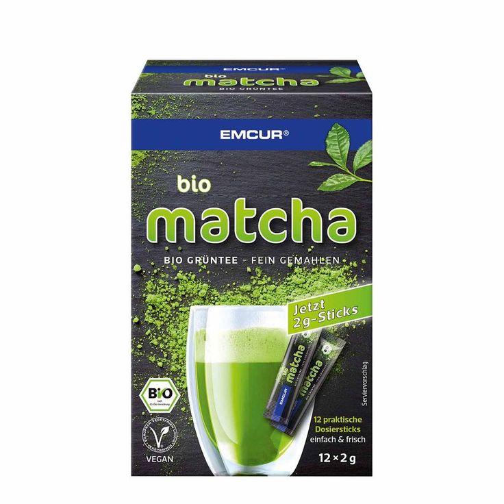 Bio Matcha Grüntee Pulver für unzählige Matcha Tee Rezepte kaufen