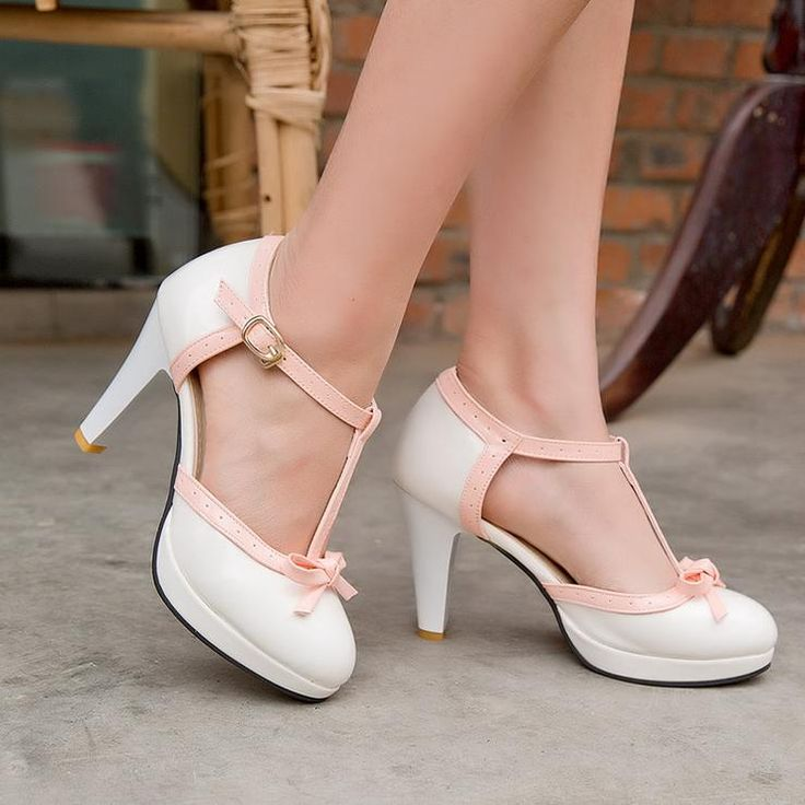 Heel Height: 9 cm Platform Height: 2 cm Size Note:…