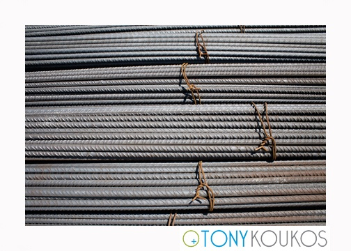 steel, bundles, rebar, rust, rods