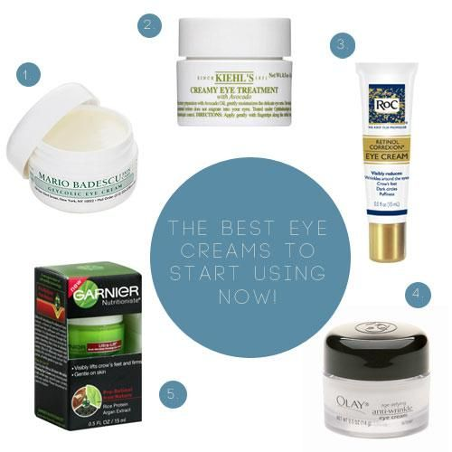My Favorite Under Eye Creams! #Beauty