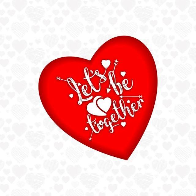 Vamos A Estar Juntos Con Los Corazones Vector El Dia San Valentin Valentin Png Y Vector Para Descargar Gratis Pngtree Corazon Vector Corazones Vector