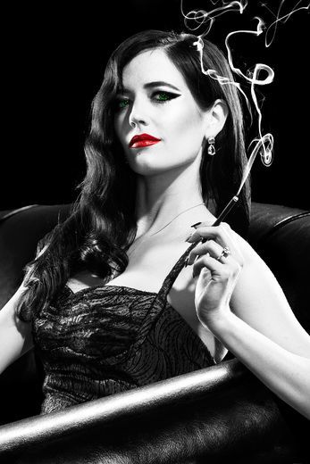 Eva Green plays Ava Lord in Sin City: A Dame to Kill For.