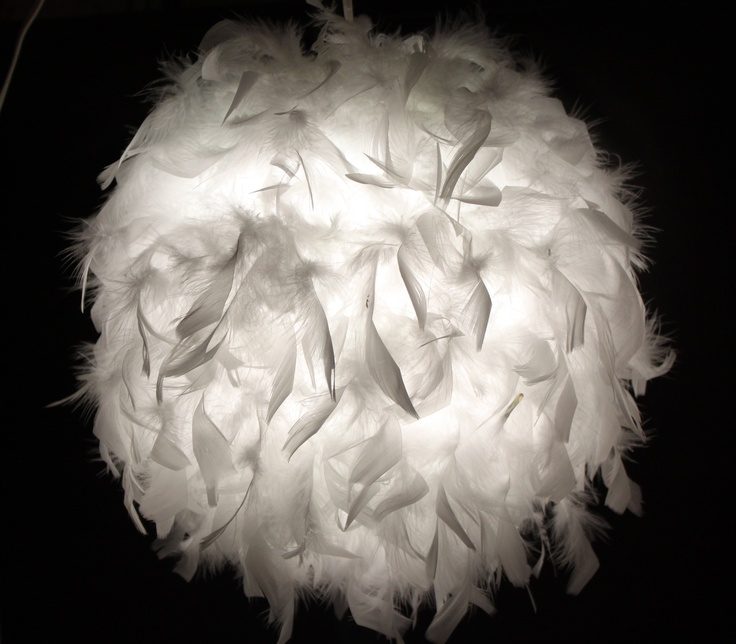 feather ball lantern? I can do that!