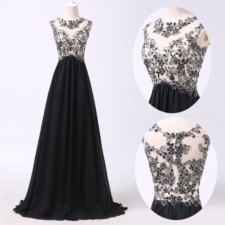 2015 Masquerade Black Evening Homecoming Prom Bridesmaid Party Gown Long Dresses #GraceKarin #BallGown #Cocktail