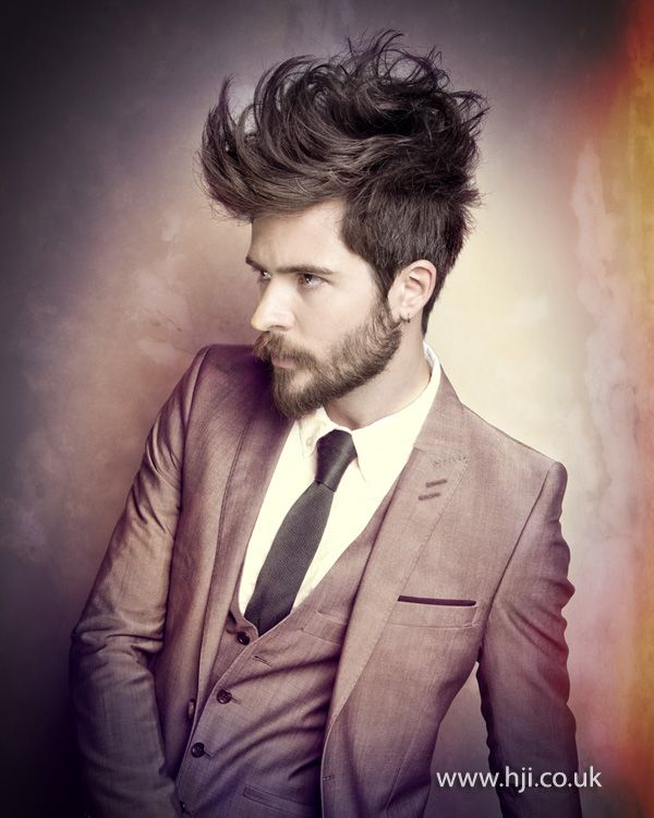 Ross Strong Mens Hairdresser of the Year Finalist - British Hairdressing Awards 2012.
