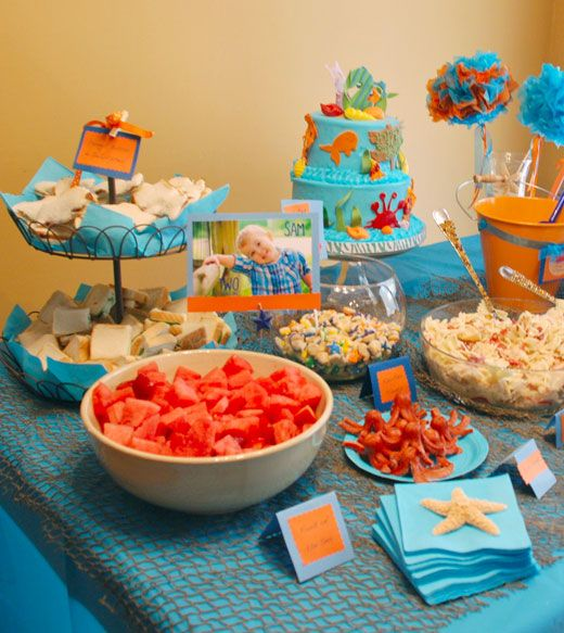 Under the Sea party: