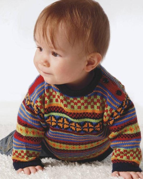Tröja #knittingroom #stickat #garn #barn