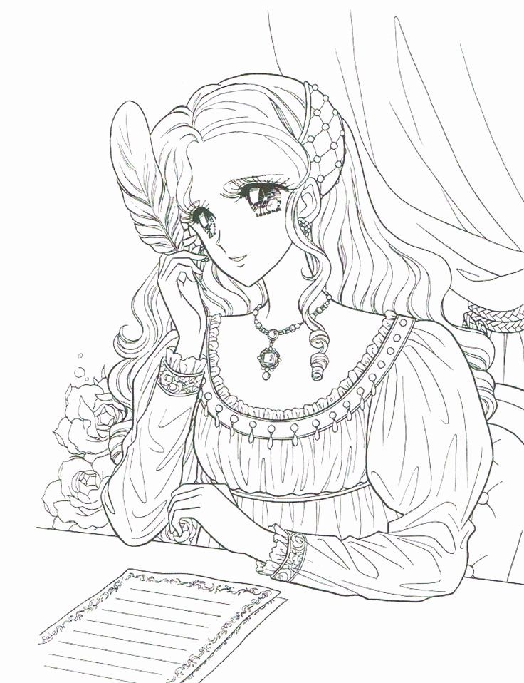 Anime Coloring Books For Adults Lovely Princess World Coloring Page Italian Renaissance Manga Coloring Books Cute Coloring Pages Coloring Pages