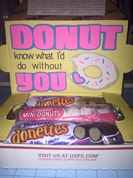 Donut small military care package